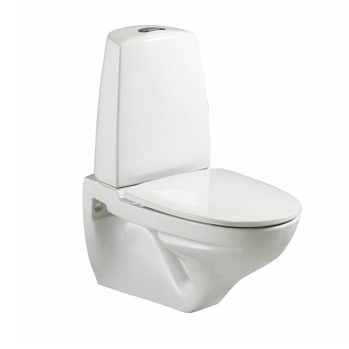 Nyt toilet væghængt synlig cisterne